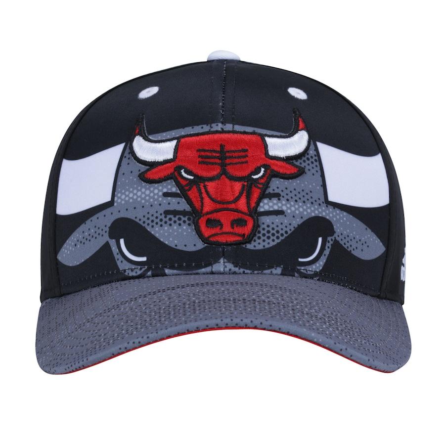Boné Aba Curva adidas NBA Chicago Bulls - Snapback - Adulto cf6490fff20