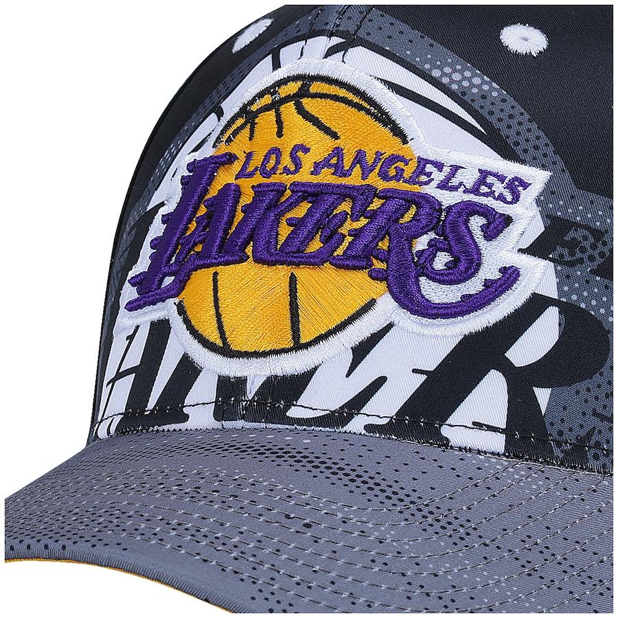 ... Boné Aba Curva adidas NBA Los Angeles Lakers - Snapback - Adulto ... 65fedd8d5bd
