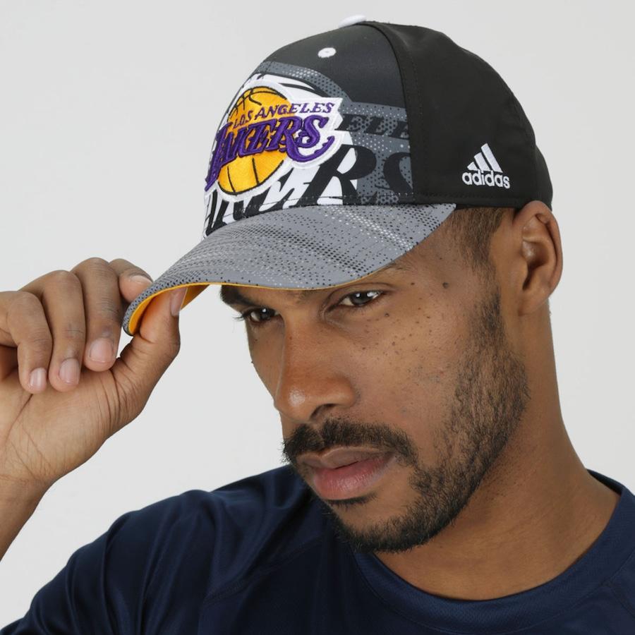 ... Boné Aba Curva adidas NBA Los Angeles Lakers - Snapback - Adulto 06b9cd0d1c5
