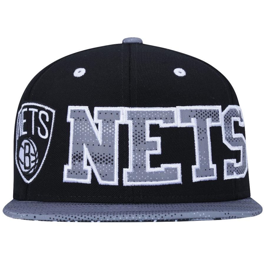5eae662b75c67 Boné Aba Reta adidas NBA Brooklyn Nets Bolinhas - Snapback