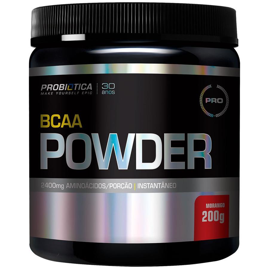 8d14dca36 BCAA Probiótica Powder - Morango - 200g