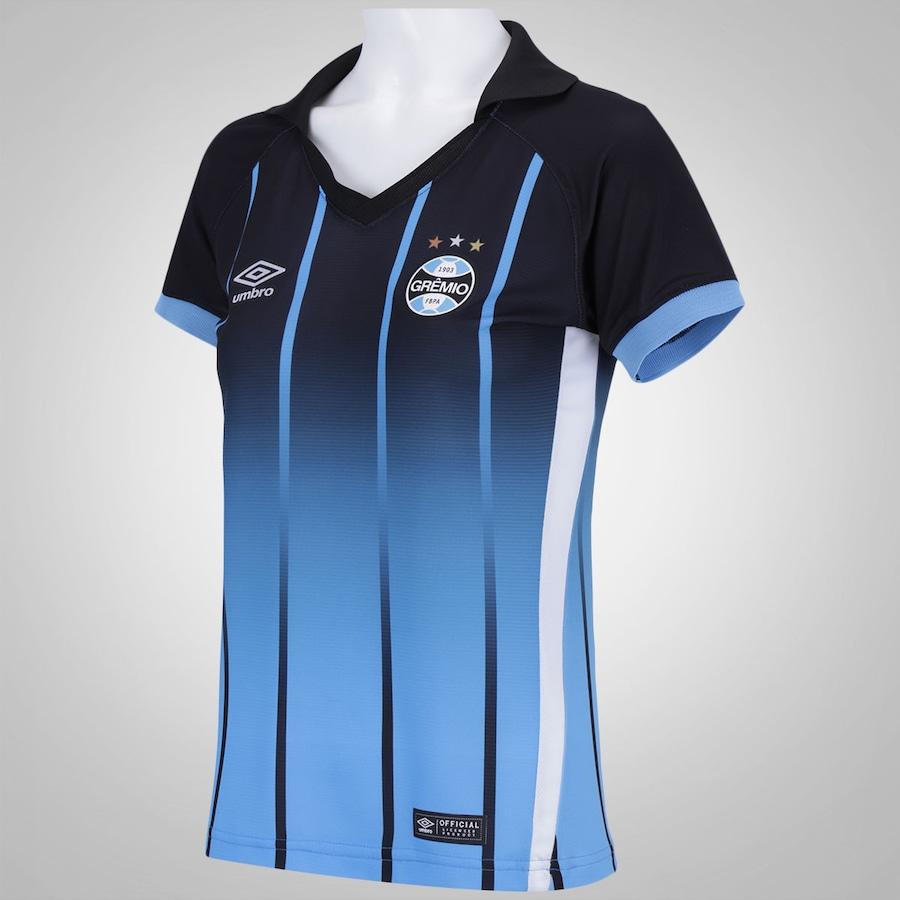 Camisa do Grêmio III 2016 Umbro - Feminina 7ffbf481c80de