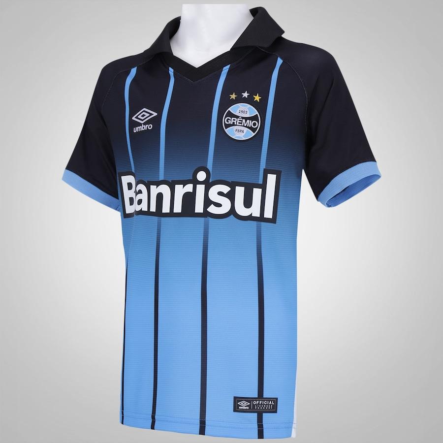 Camisa do Grêmio III 2016 Umbro - Infantil d91d49e9a6f2b