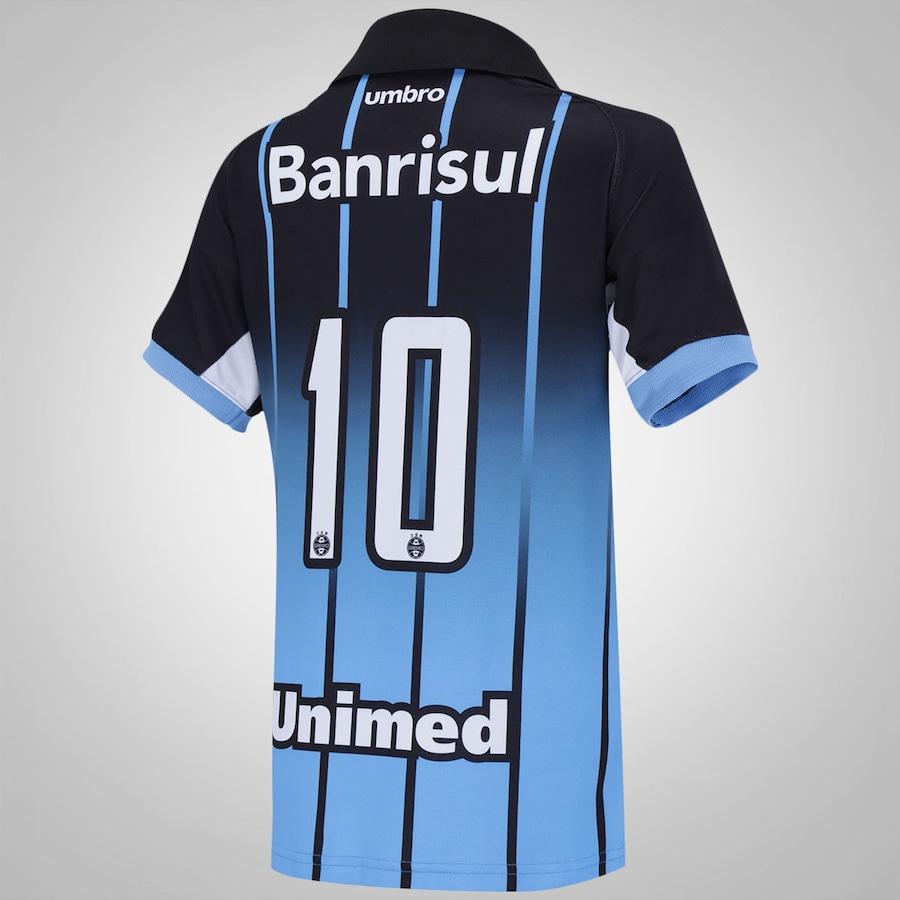 Camisa do Grêmio III 2016 Umbro - Infantil 422033fdf50a1