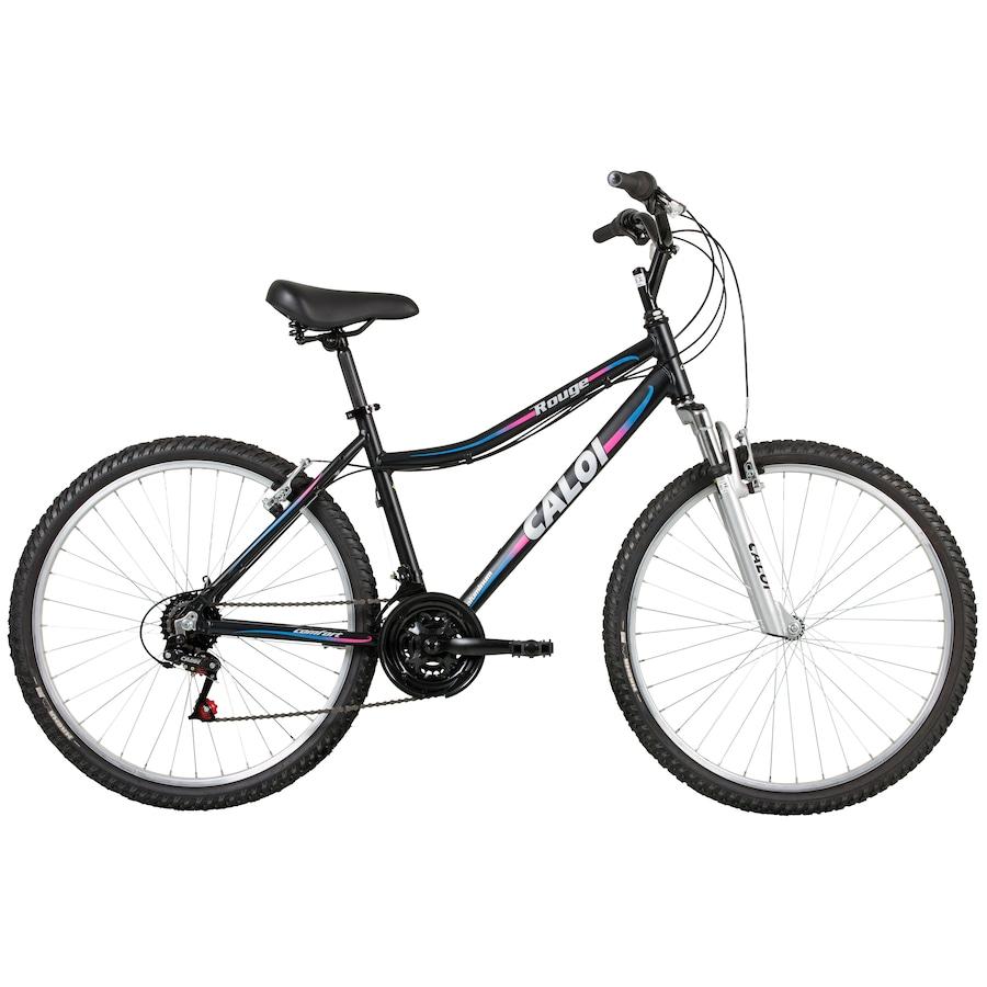1be03982e Bicicleta Caloi Rouge - Aro 26 - Freio V-Brake - 21 Marchas - Feminina