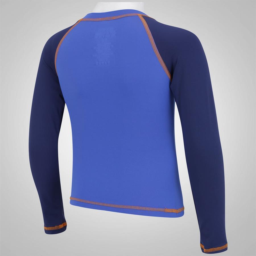 Camiseta Manga Longa com Proteção Solar UV Oxer Peixe - Infantil f0106b3c1c