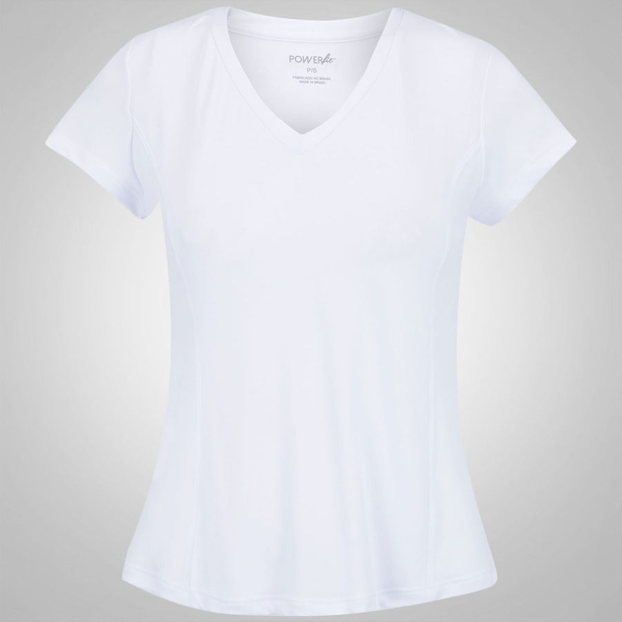 11fa5cf449 Camiseta Power Fit Decote V - Feminina