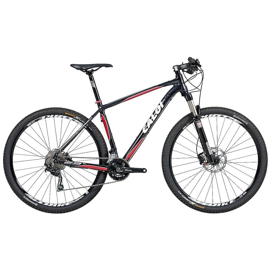 138866f18 Mountain Bike Caloi Elite - Aro 29 - Freio Shimano