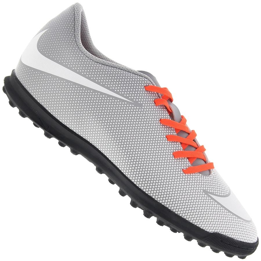 1ee9d50925 Chuteira Society Nike Bravatax II TF - Adulto