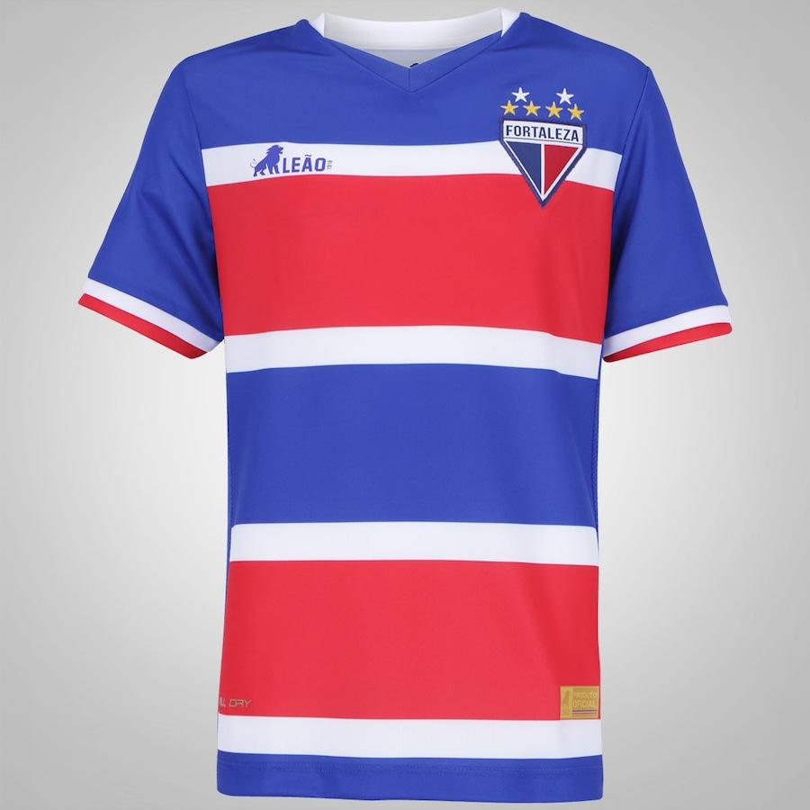 58255efe78d5c5 Camisa do Fortaleza I 2016 nº 10 Lobo - Infantil