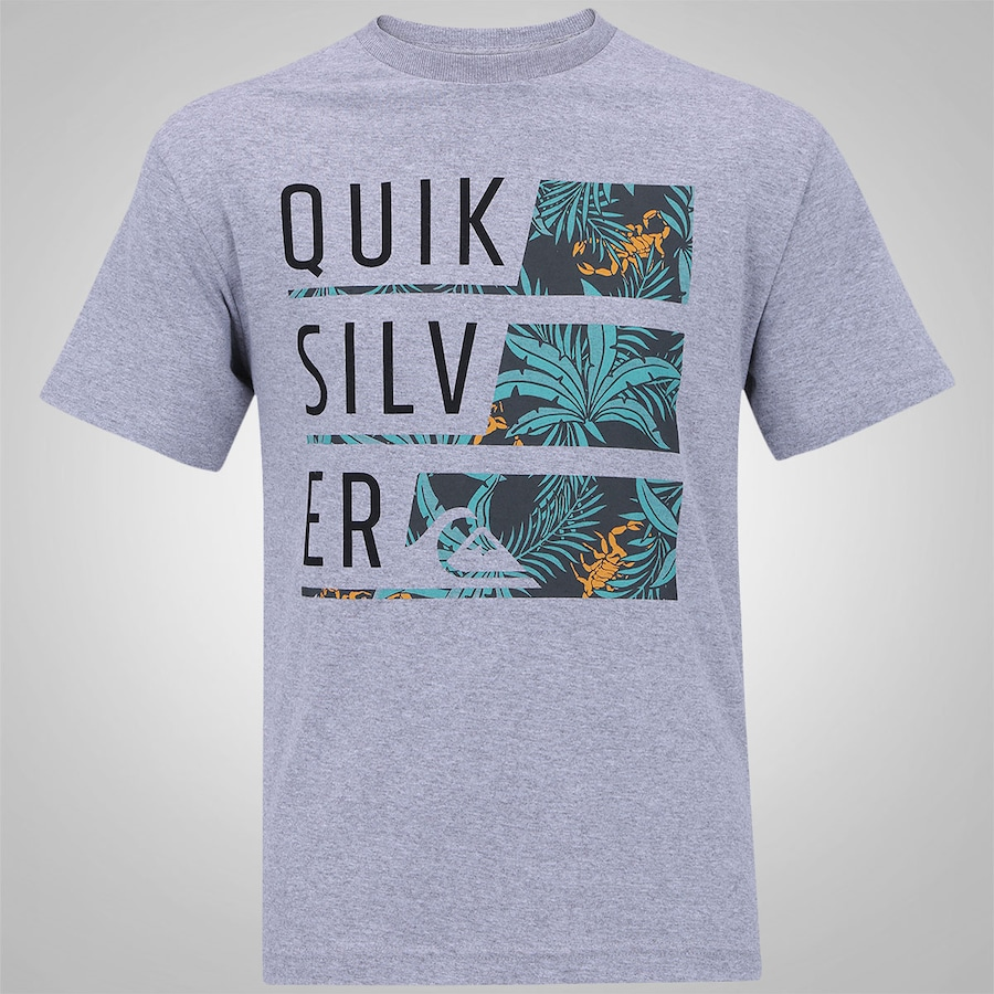 Camiseta Quiksilver Word Up After Dark - Masculina 262f4f9fb00