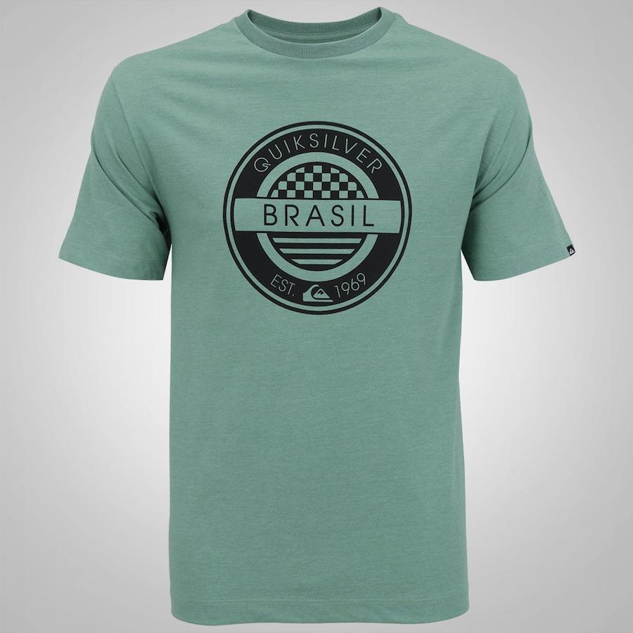 Camiseta Quiksilver Brazil - Masculina 3b15084ba49