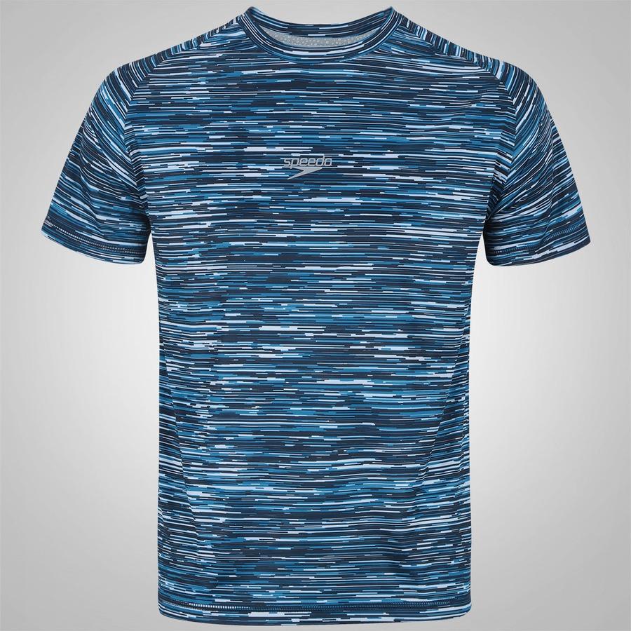 4ddd7ec7194ea Camiseta com Proteção Solar UV Speedo Sanding - Masculina