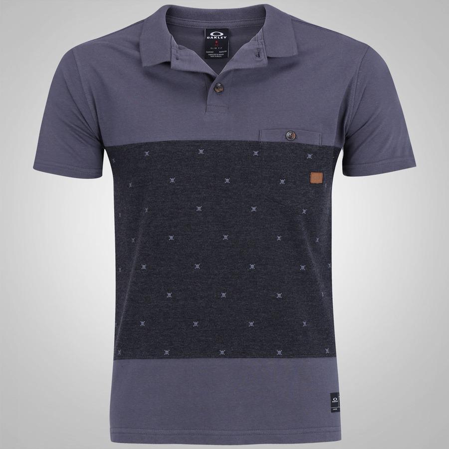 Camisa Polo Oakley Skull Print - Masculina 27c5ba565aa