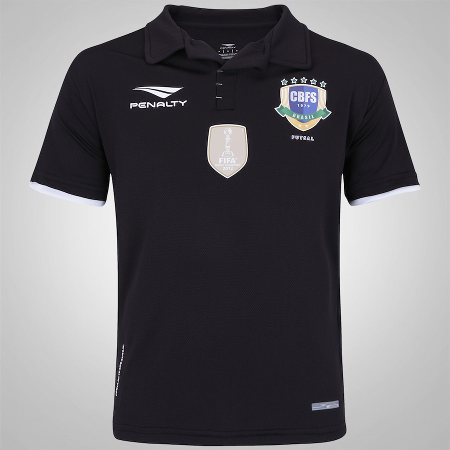 955c7ef41802d Camisa da CBFS Of All Black Penalty - Masculina