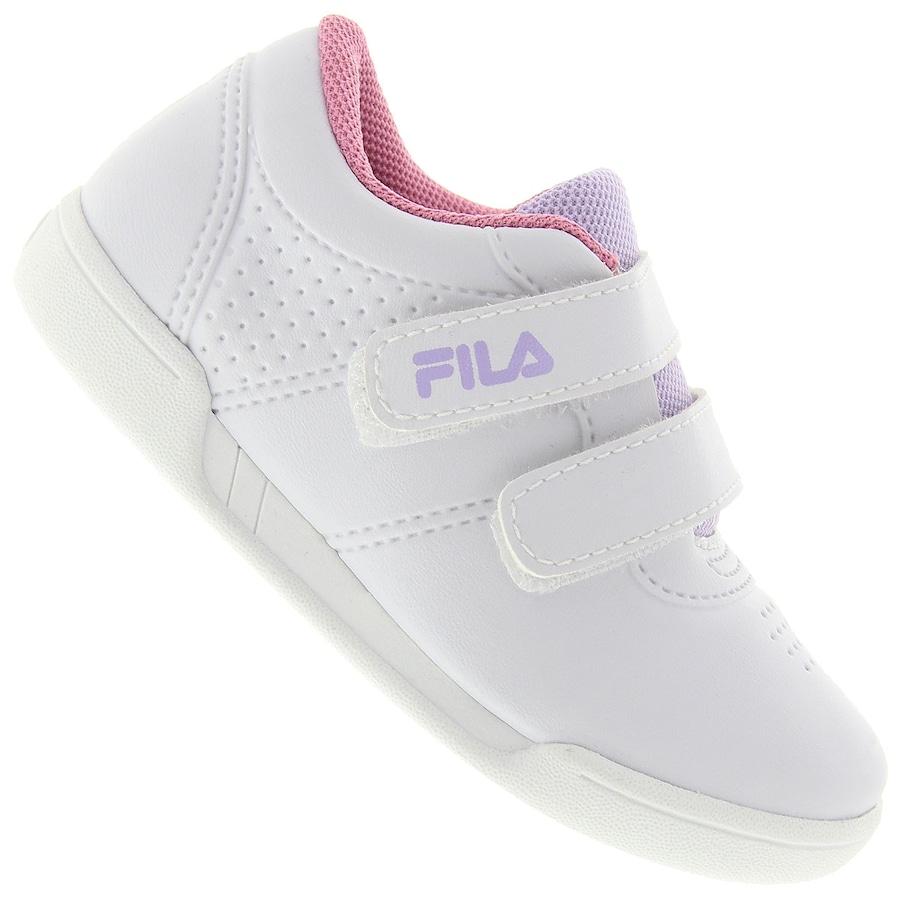 Tênis Fila F16 Low Velcro BB Feminino - Infantil f6f049f435392