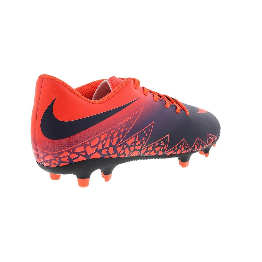 Chuteira de Campo Nike Hypervenom Phade II FG - Adulto 2f7cbba7b3e11