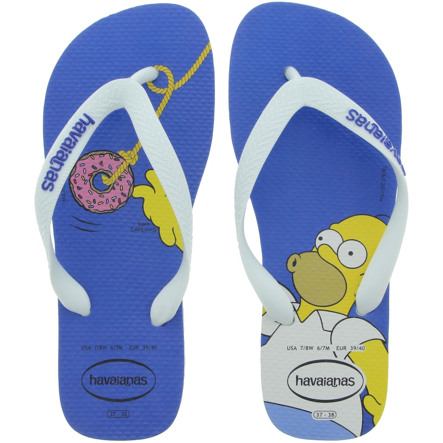 8e418a074 Chinelo Havaianas Simpsons 17 - Masculino