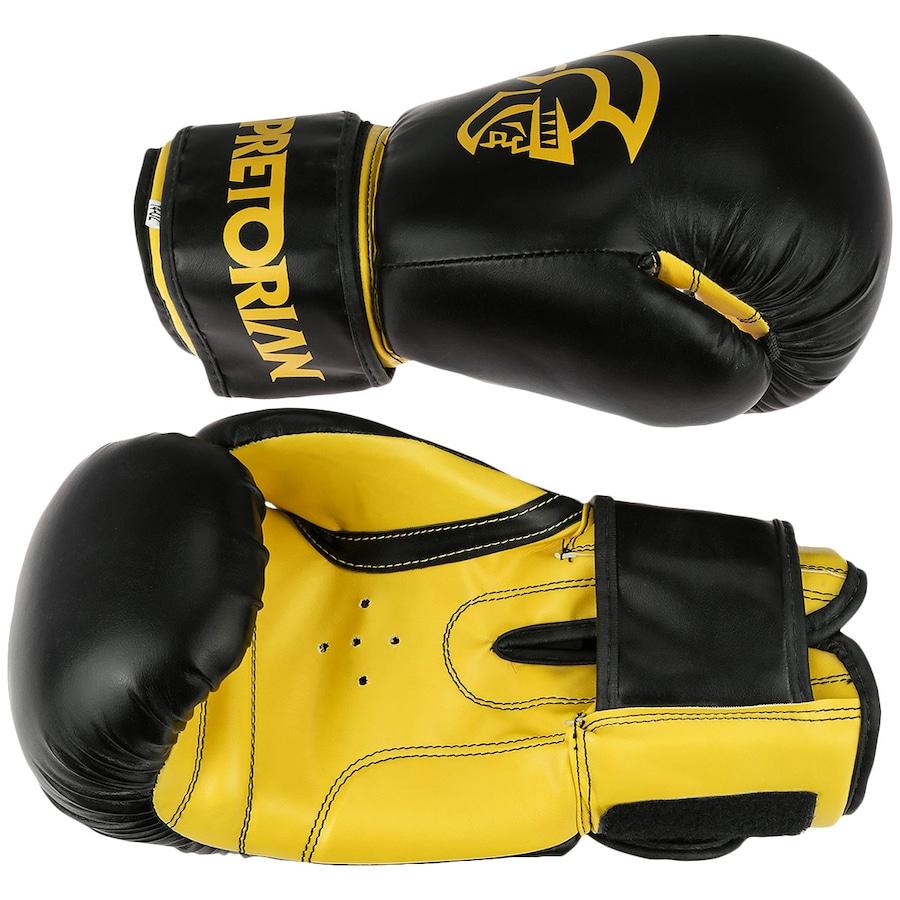 2709a5c6a Kit de Boxe Pretorian  Bandagem + Protetor Bucal + Luvas de Boxe First - 14  OZ - Adulto