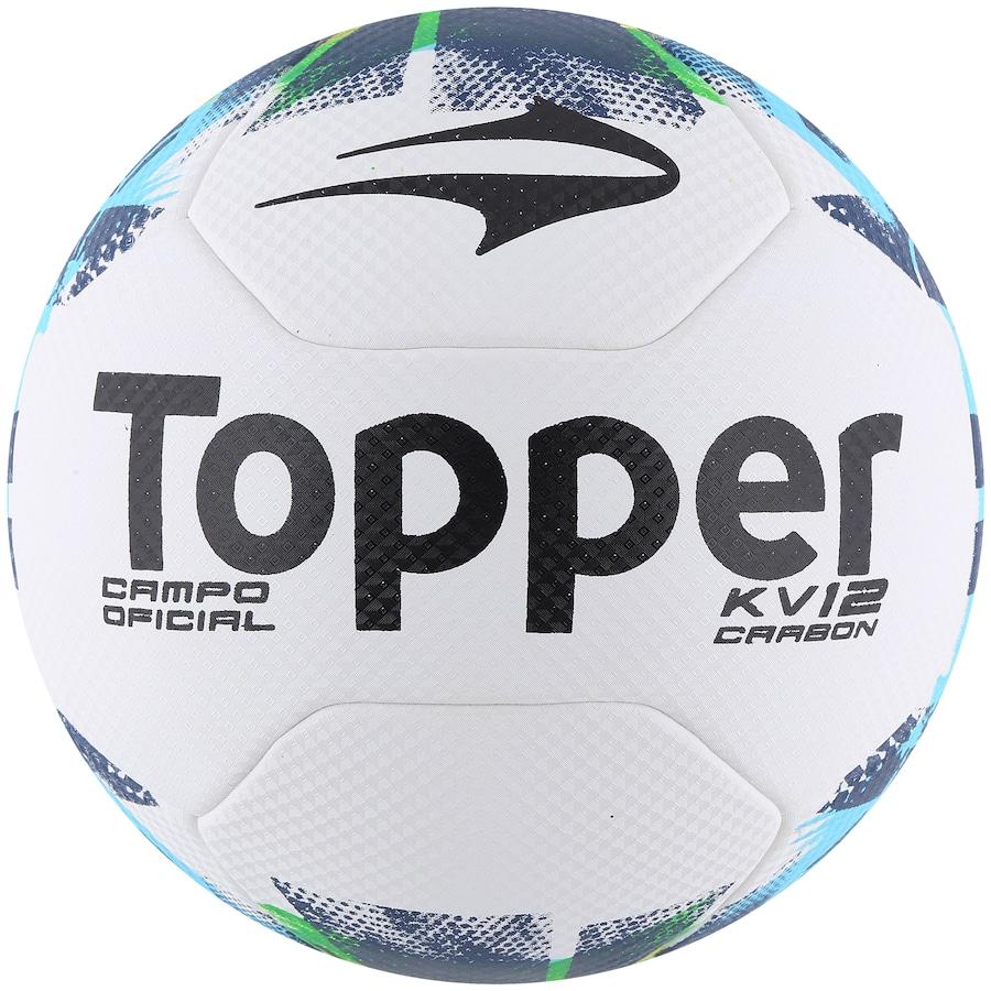 Bola de Futebol de Campo Topper KV Carbon 12 70f82efdf5867