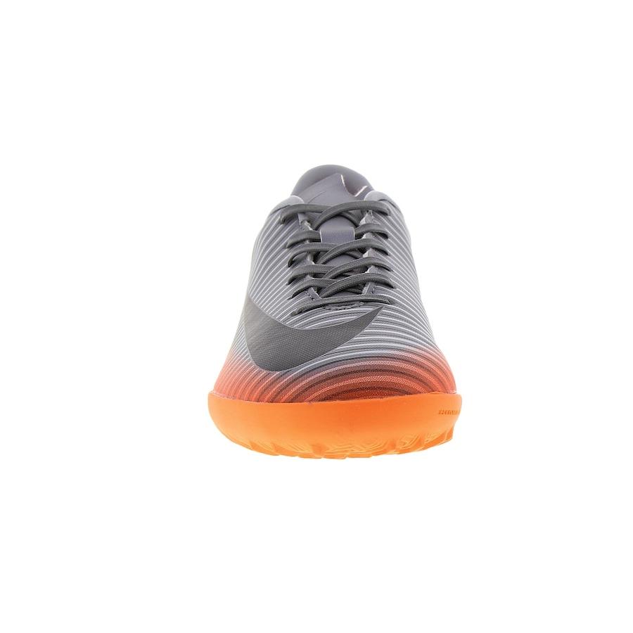 be169e6f47 Chuteira Society Nike MercurialX Vapor XI CR7 TF - Infantil