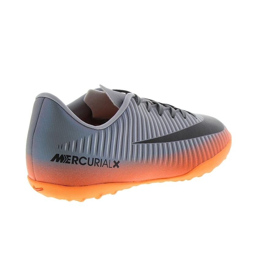 0e4121041b Chuteira Society Nike MercurialX Vapor XI CR7 TF - Infantil