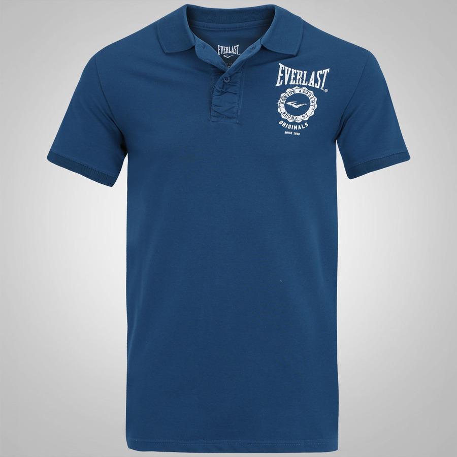ac7eb6354b Camisa Polo Everlast EL20003 - Masculina