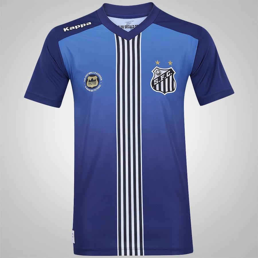 877f7d9e20877 Camisa do Santos III 2016 Kappa - Masculina
