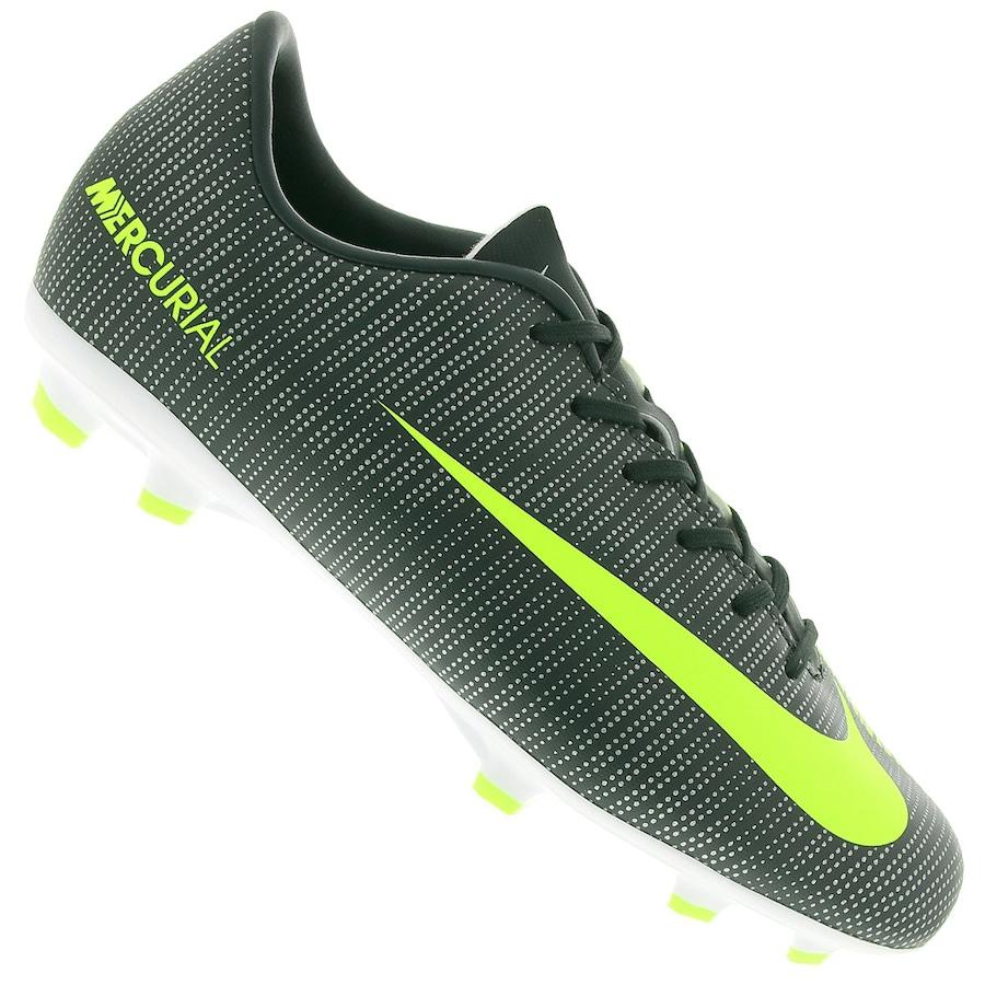 Chuteira de Campo Nike Mercurial Vapor XI CR7 FG - Infantil b61a3e05f3678