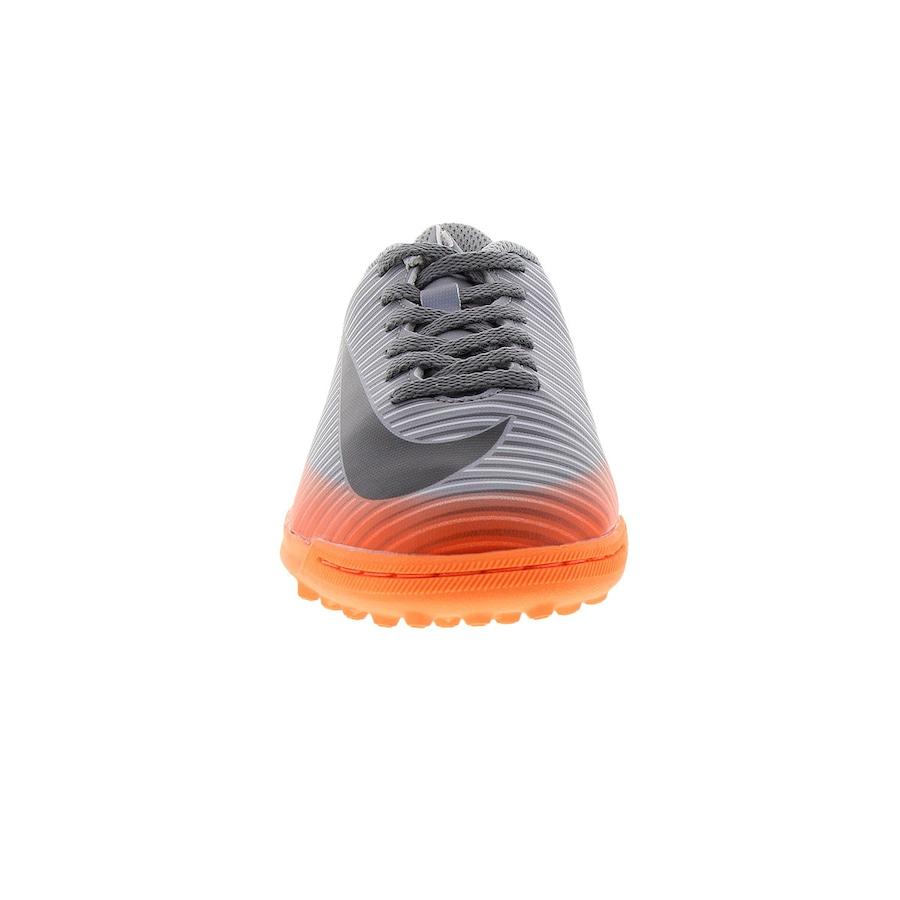 ... Chuteira Society Nike MercurialX Vortex III CR7 TF - Infantil ... 95b09846a3cd8
