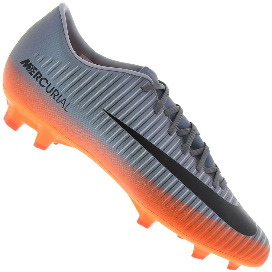 3b66fb1754 Chuteira de Campo Nike Mercurial Victory VI CR7 FG - Adulto