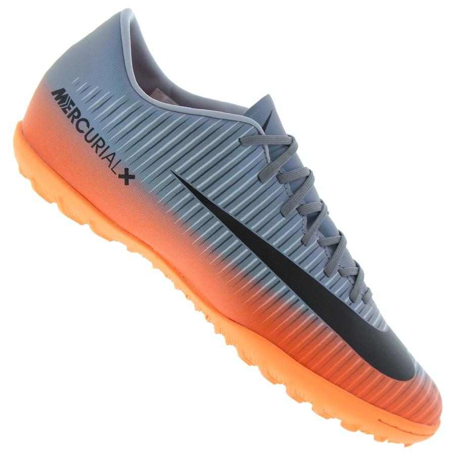Chuteira Society Nike MercurialX Victory VI CR7 TF - Adulto 64faf8e44b007