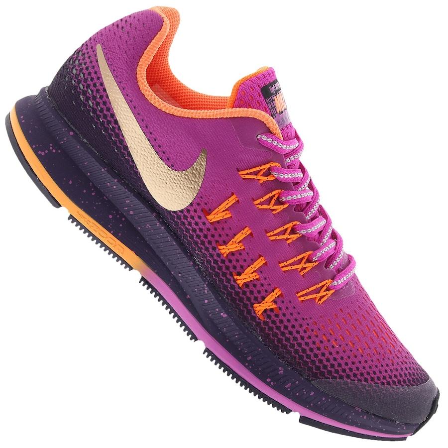 0a256d2f14671 Tênis Nike Zoom Pegasus 33 Shield Feminino - Infantil