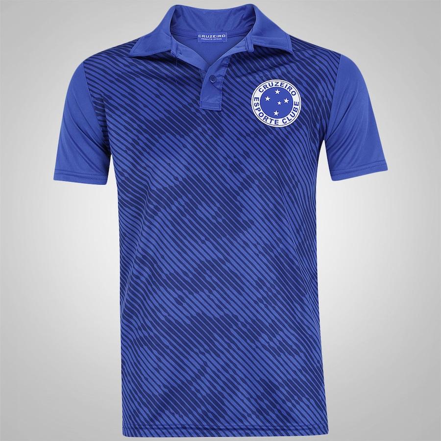 727d5181f7 Camisa Polo do Cruzeiro Camuflada - Masculina