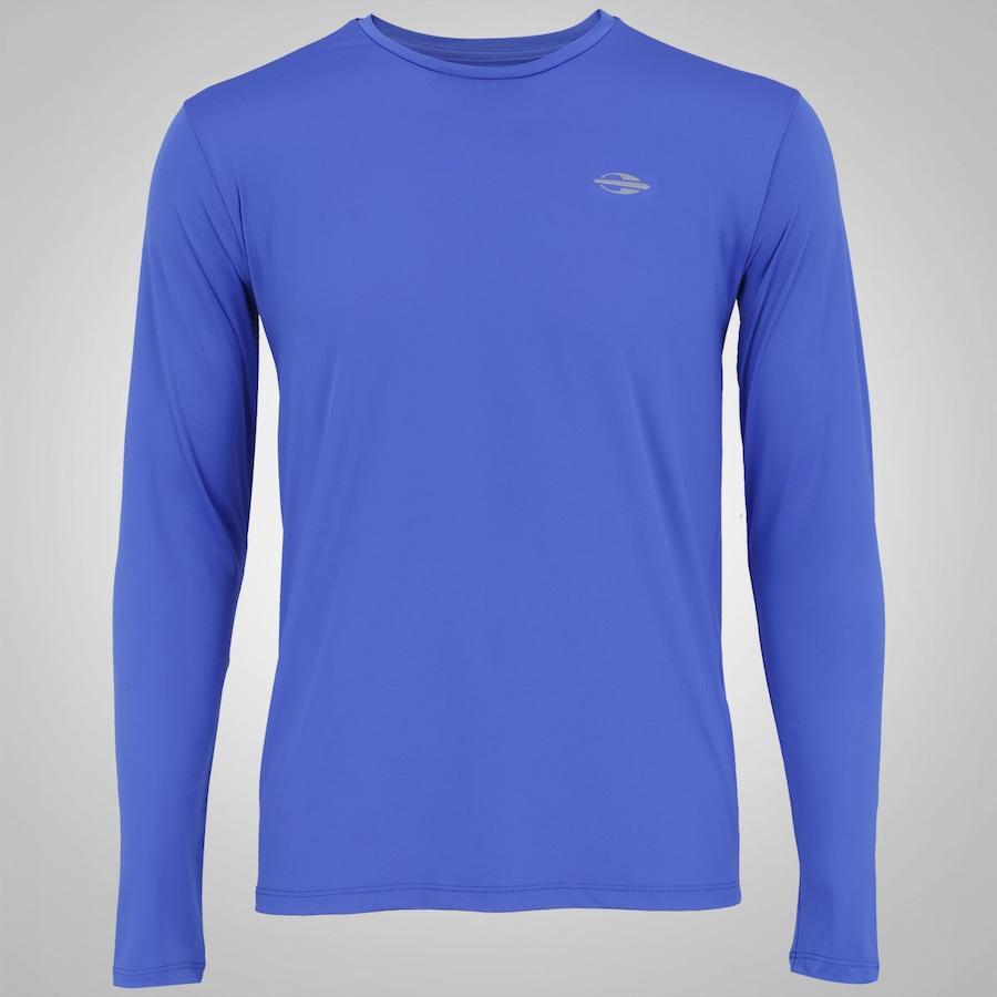 Camiseta Manga Longa com Proteção Solar UV Mormaii 8fdb9f645cfe0