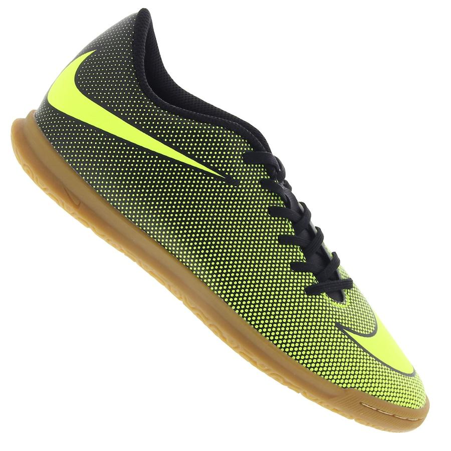 Chuteira Futsal Nike Bravata X II IC - Adulto 654f9e18bad33