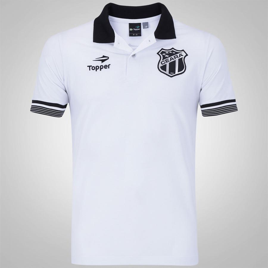 511c284bf1 Camisa Polo do Ceará Viagem 2016 CT Topper - Masculina