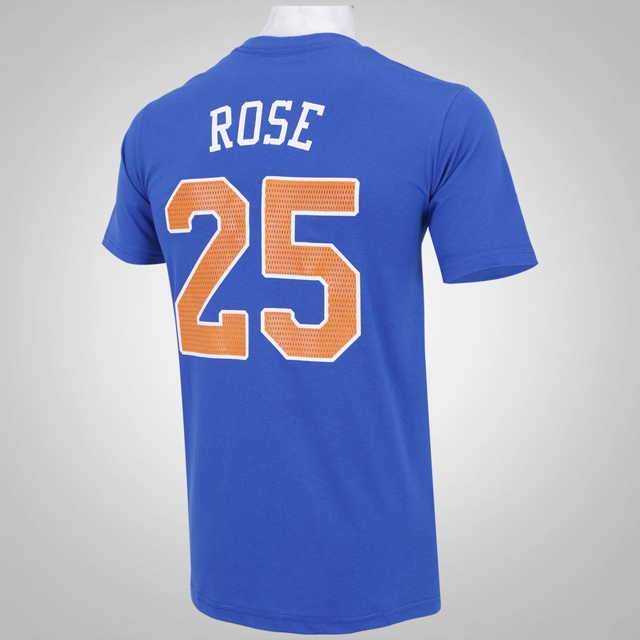 Camiseta NBA New York Knicks Rose 25 - Masculina 496c5ed940f49