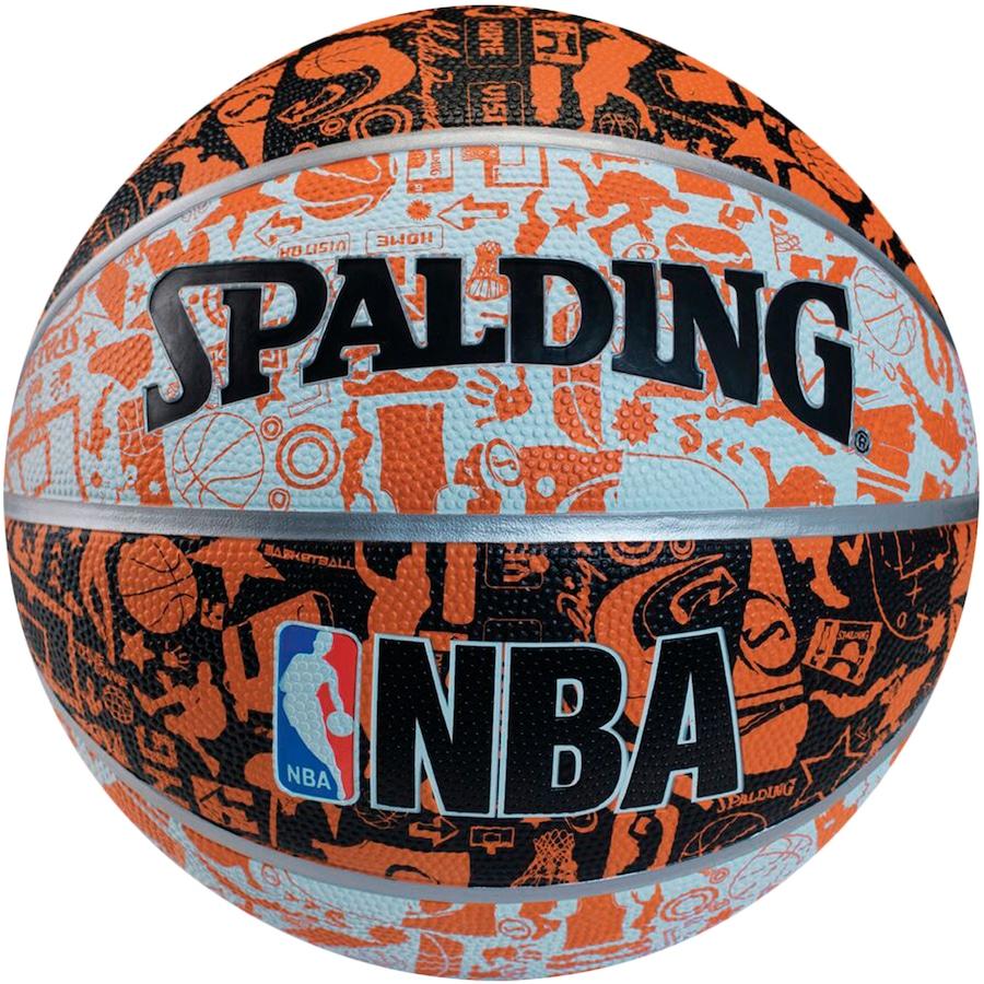 Bola de Basquete Spalding NBA Graffiti 73722Z 62583354ded4c