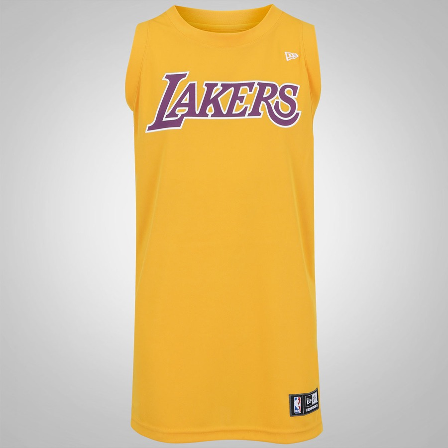 e12436c0f Camisa Regata New Era Los Angeles Lakers - Masculina