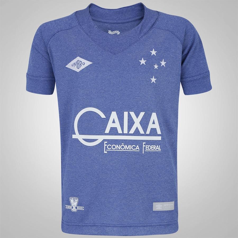 58edf8030b Camisa do Cruzeiro III 2016 nº 10 Umbro - Infantil