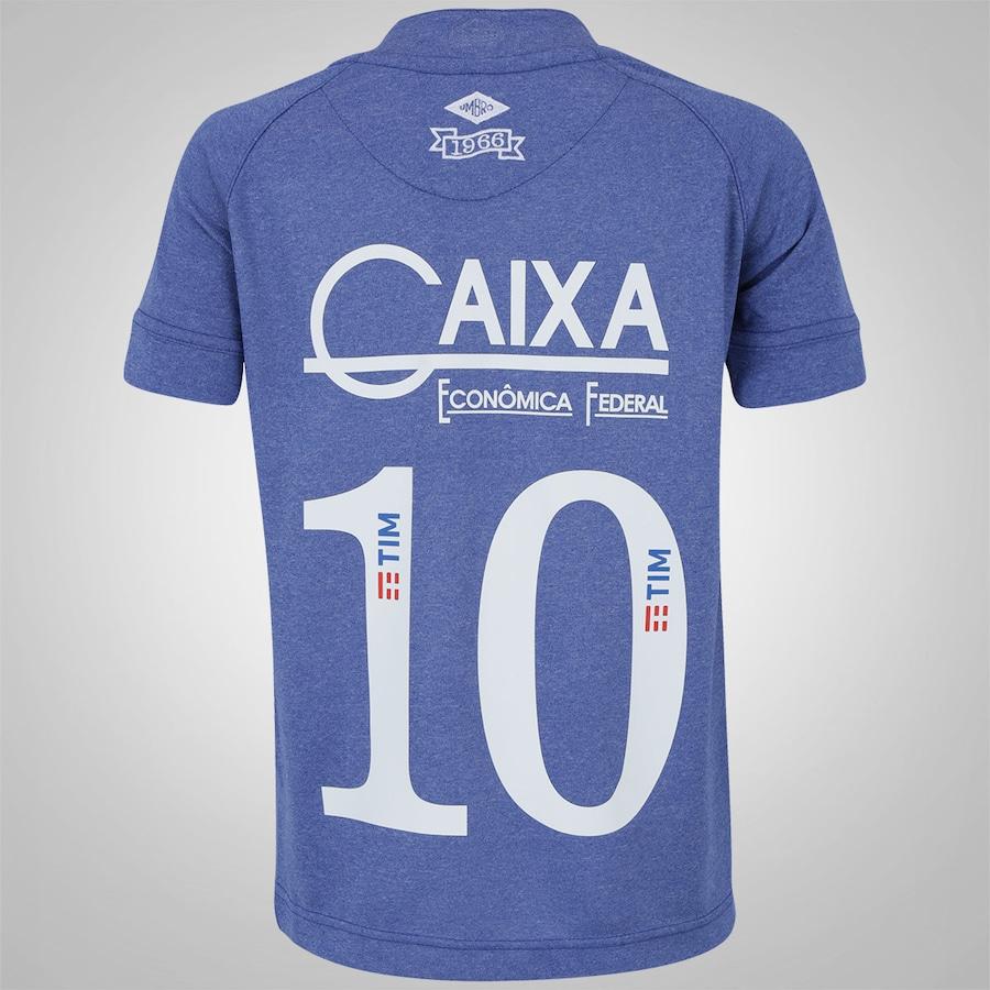 Camisa do Cruzeiro III 2016 nº 10 Umbro - Infantil dad5232c5ee20