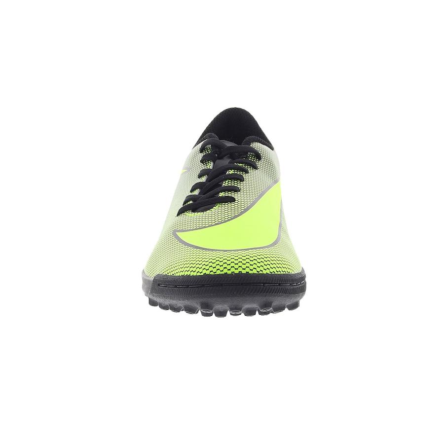 Chuteira Society Nike Bravata X II TF - Adulto 203887d4eedaf