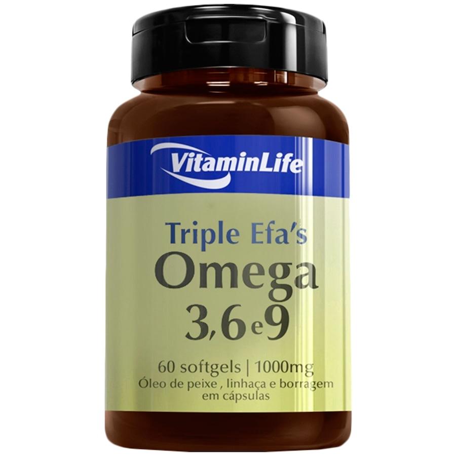 68b480d2c EFA Triplo VitaminLife Ômega 3