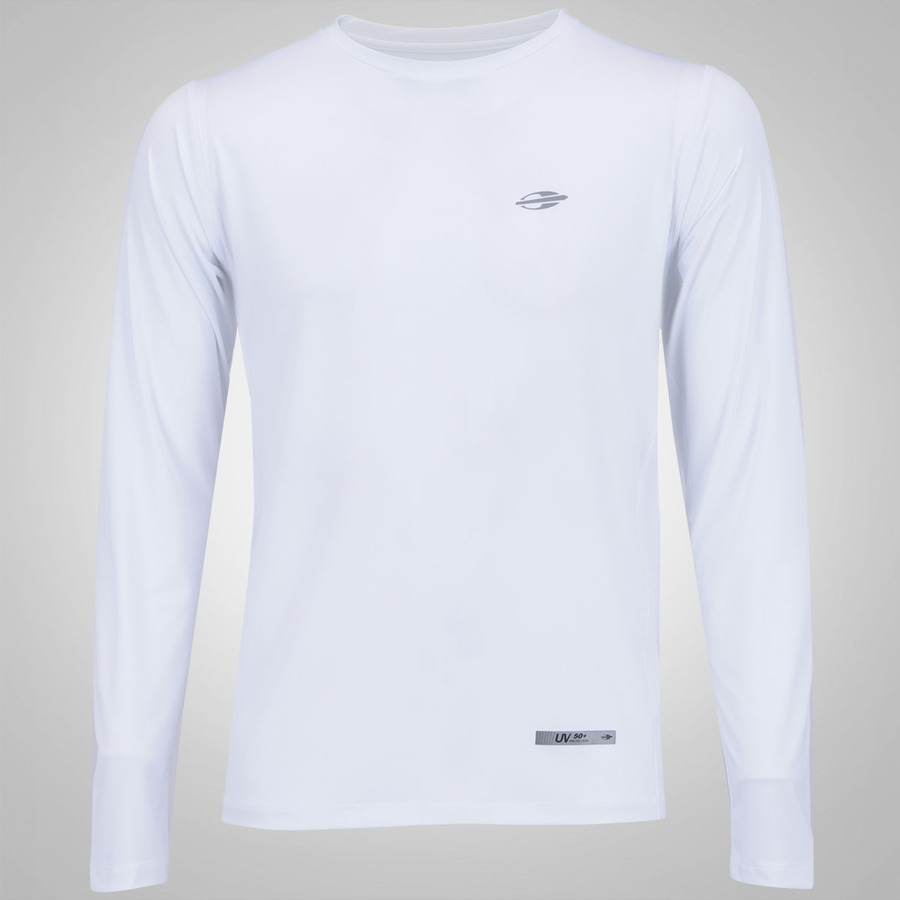 08585177151e1 Camiseta Manga Longa Proteção UV Mormaii Body Fit Masculina