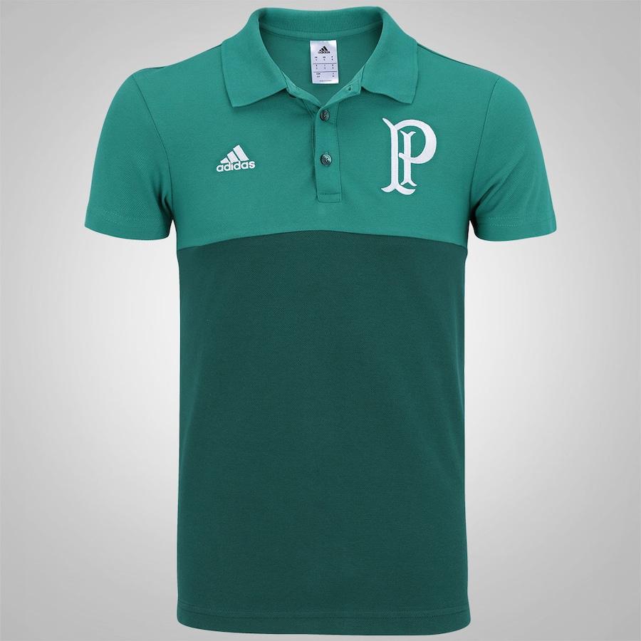 Camisa Polo do Palmeiras Premium adidas - Masculina a14d8c74cf30a