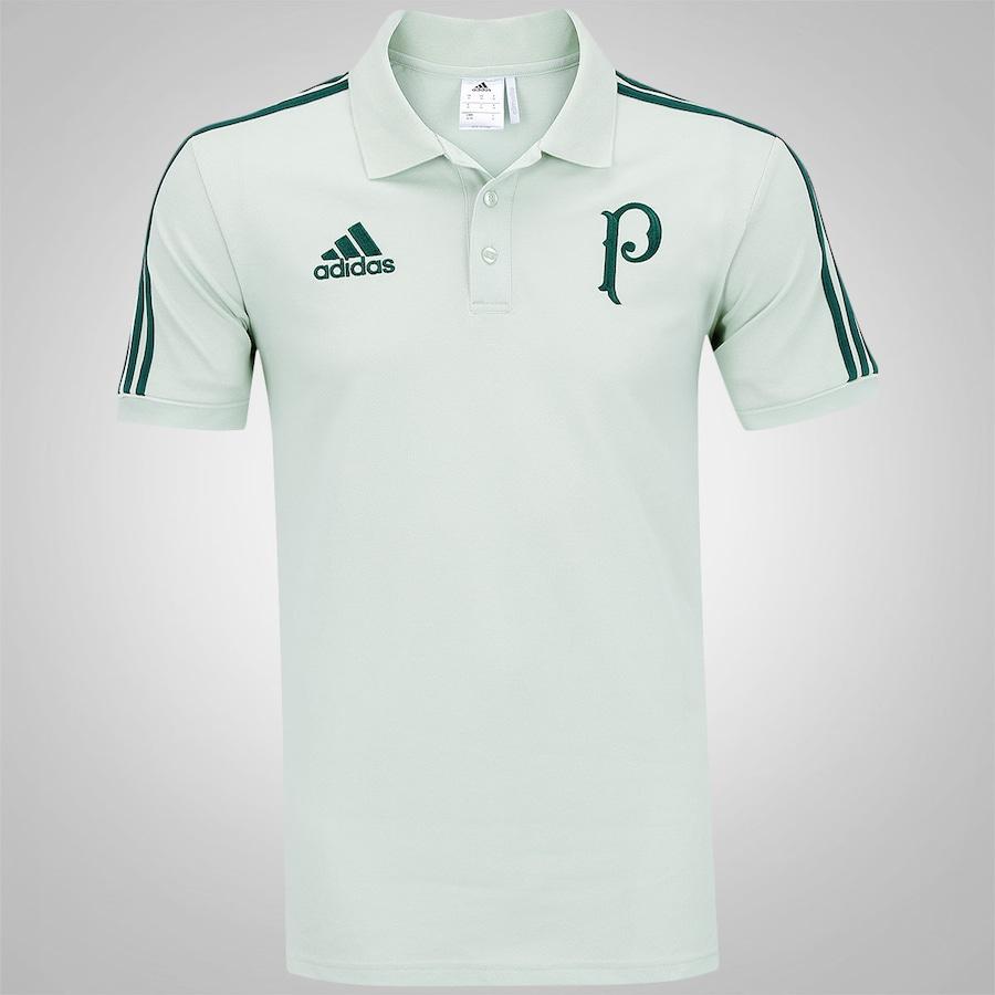 Camisa Polo de Viagem do Palmeiras 2017 adidas - Masculina 664918d525652