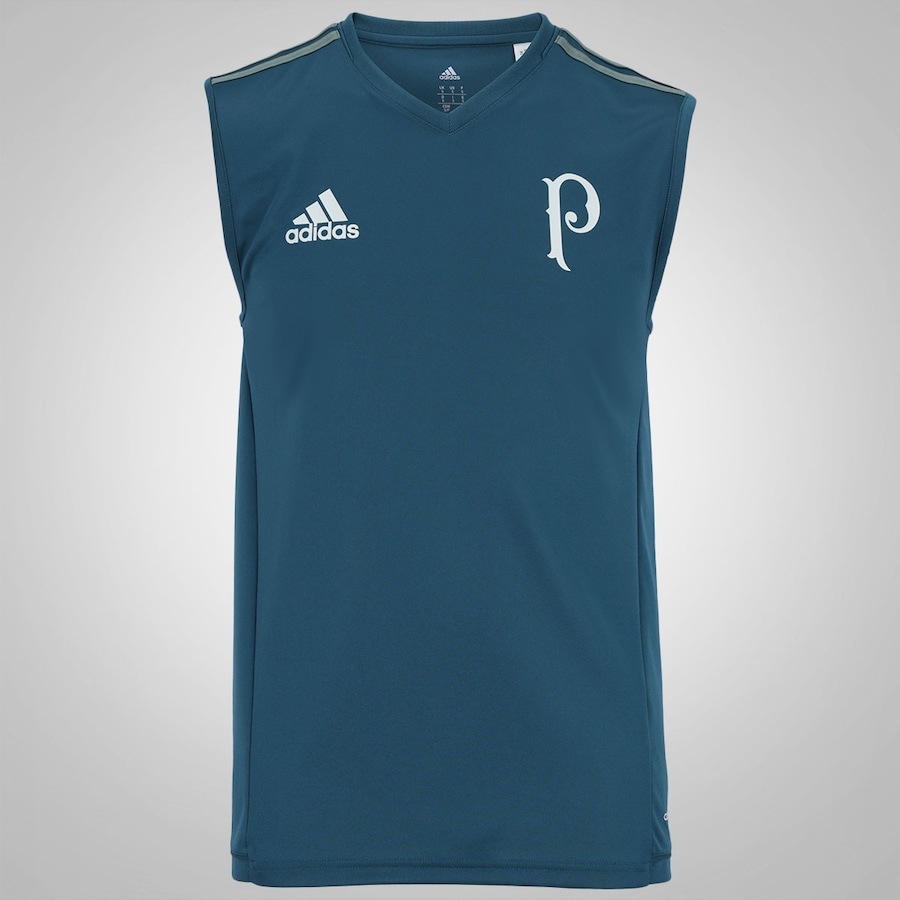 444889581ba19 Camiseta Regata de Treino do Palmeiras 2017 adidas - Masculina