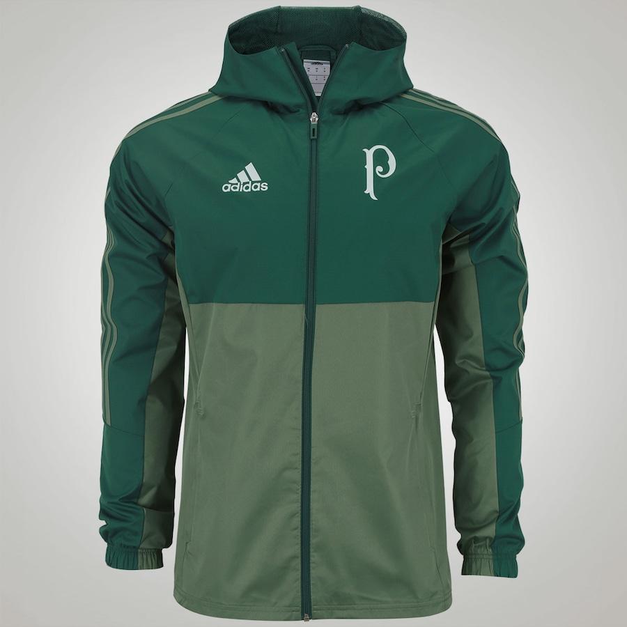 Jaqueta Impermeável do Palmeiras Treino adidas – Masculina 920006bdcc09e