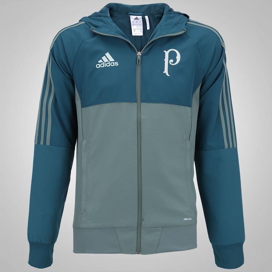 Camisa Polo adidas Viagem. Jaqueta de Viagem do Palmeiras 2017 adidas  Masculina dd04378c727f7